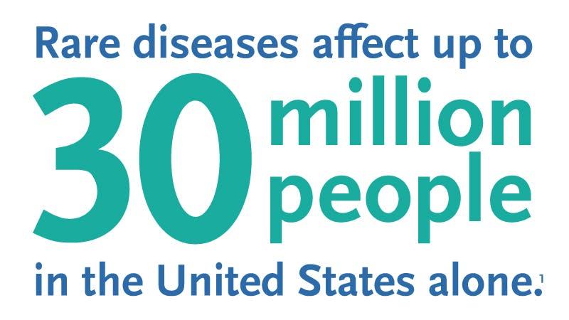 Rare diseases aren't rare
